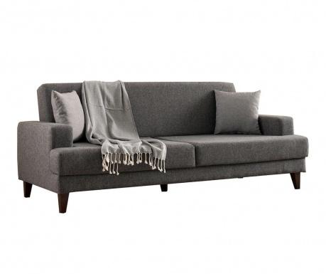 Canapea extensibila 3 locuri Kana Light Grey
