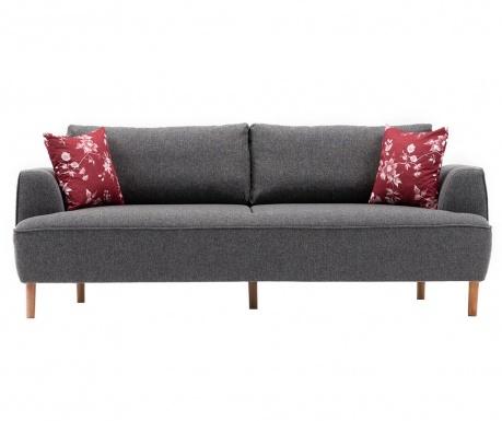 Canapea 3 locuri Felix Extra Soft Dark Grey
