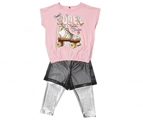 Sada tričko a legíny pro děti Roller Skate
