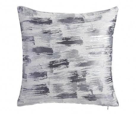Perna decorativa Glam Strokes Silver 45x45 cm