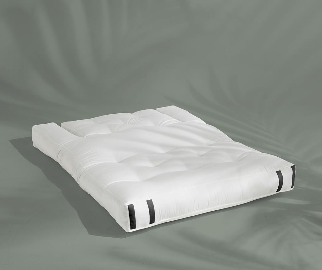 Rozkładana sofa zewnętrzna Hippo Out White 140x200 cm