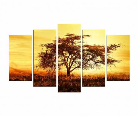 Set 5 tablouri Savanah