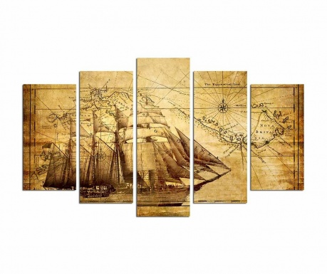 Set 5 tablouri Navigator