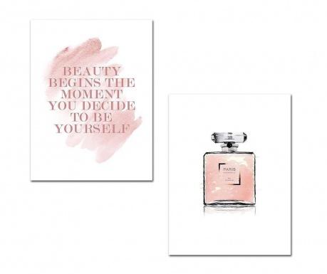 Set 2 tablouri Perfume 30x40 cm