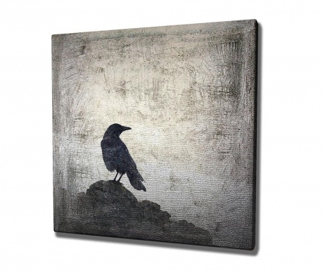 Tablou Raven 45x45 cm