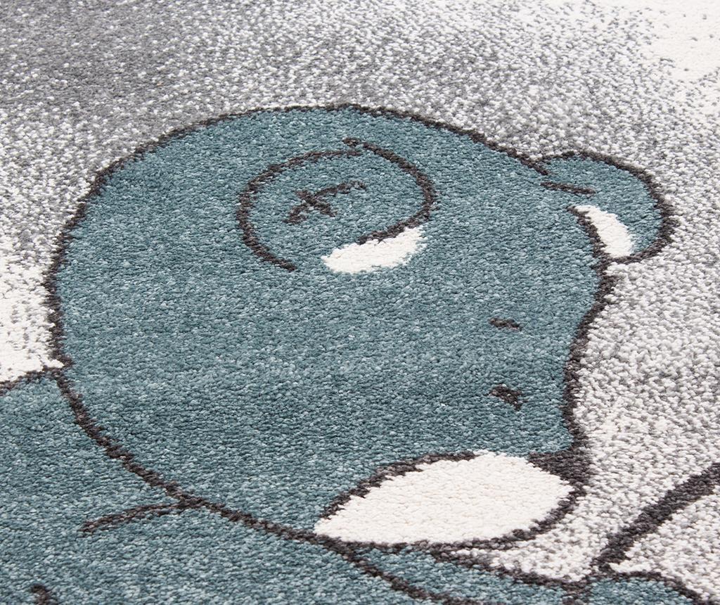 Koberec Teddy Bear Blue 80x150 cm