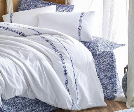 Спално бельо King Supreme Delmor Dark Blue
