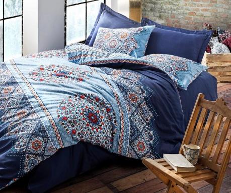 Спално бельо King Satin Supreme Harmony Dark Blue