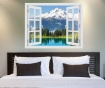 Window Washington Glacier Peak 3D Matrica
