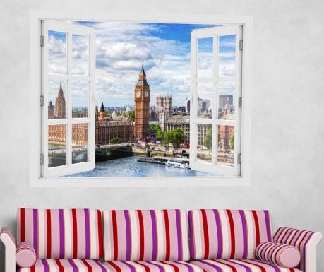 Sticker 3D Window Westminster Bridge London