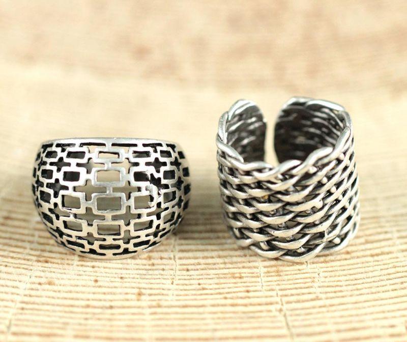 Комплект 2 пръстена Boheme Web