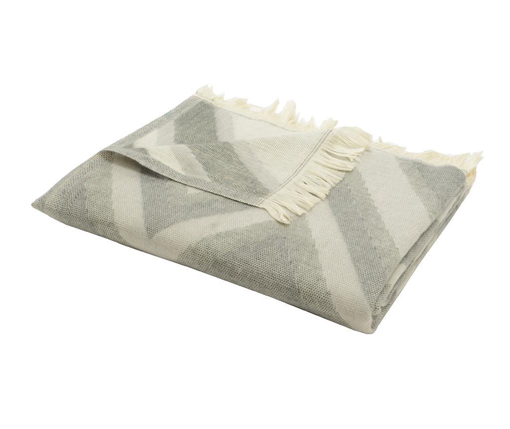 Pled Corsana Grey 130x170 cm - Korb, Gri & Argintiu