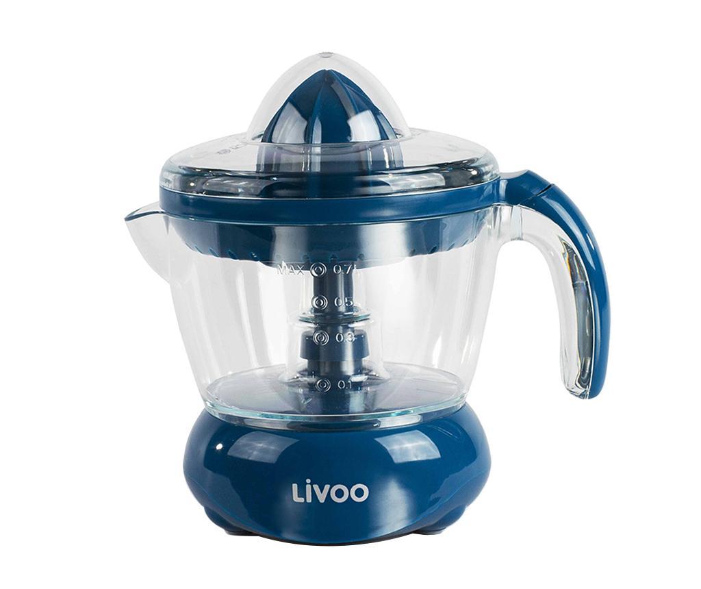 Storcator electric pentru citrice Eris Blue 700 ml - LIVOO, Albastru