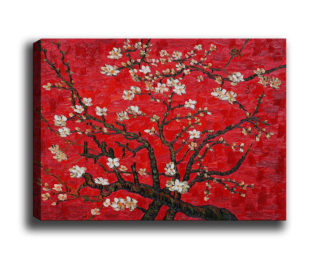 Tablou Branches of an Almond Tree 50x70 cm - Tablo Center, Multicolor