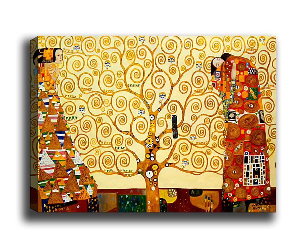 Tablou The Tree of Life 50x70 cm - Tablo Center, Multicolor de la Tablo Center