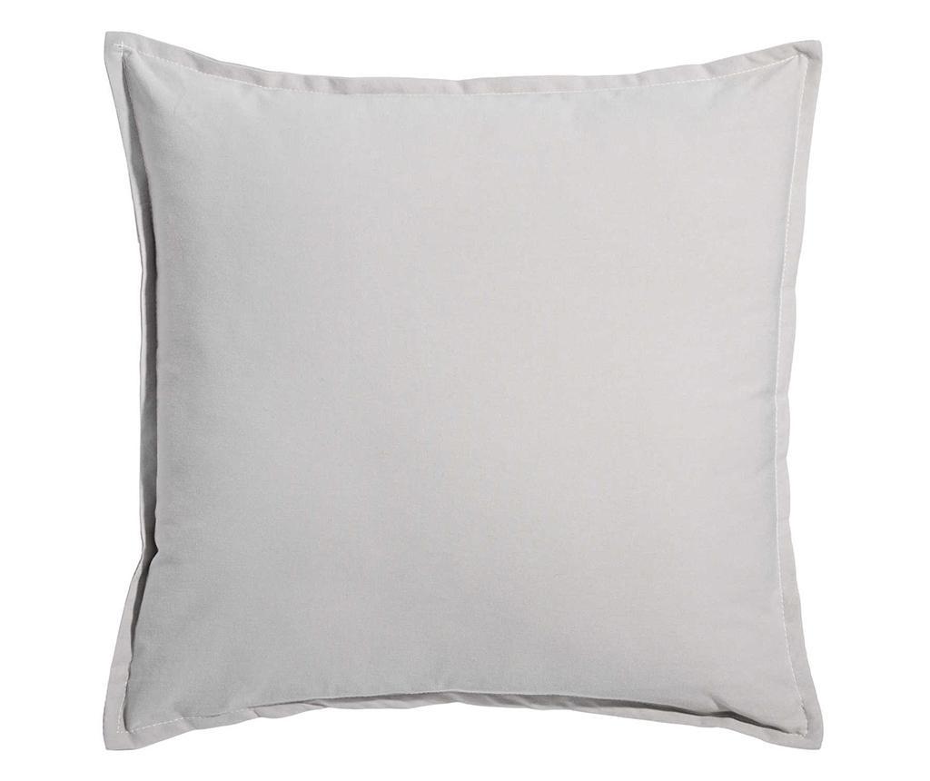 Perna decorativa Warm Home Grey 45x45 cm - Ixia, Gri & Argintiu