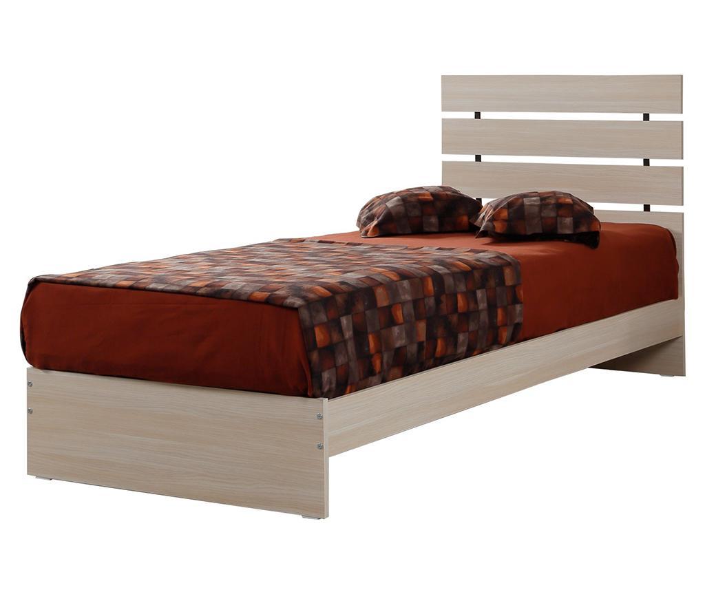 Cadru de pat Fuga Oak 90x200 cm - Comforty