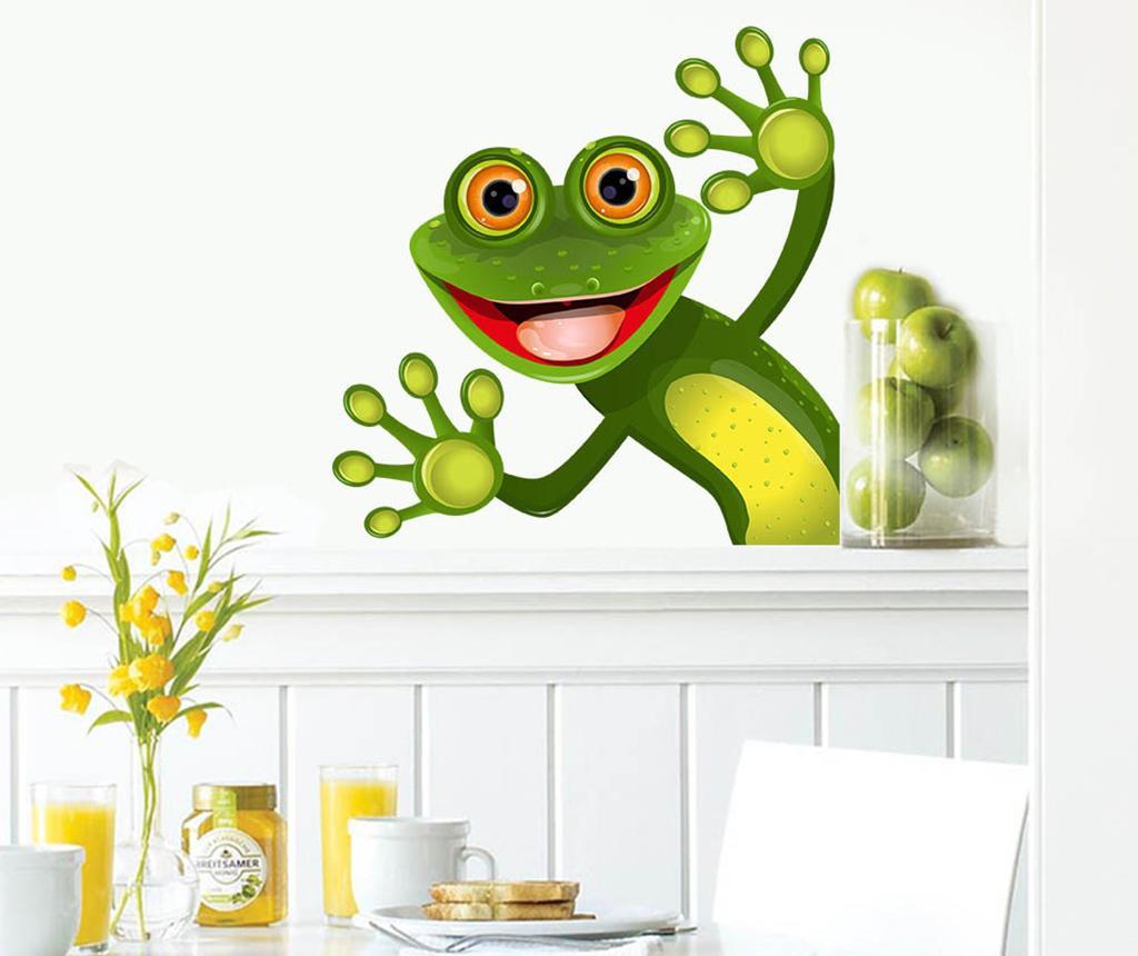 Sticker Frog - Evila Originals, Verde