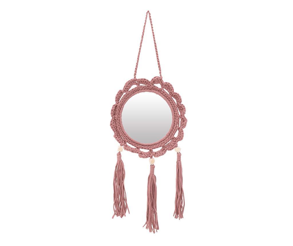 Decoratiune cu oglinda Muriel - inart, Crem