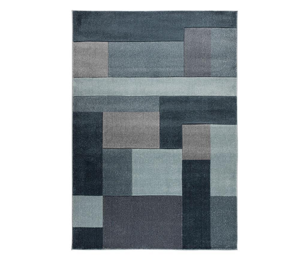 Covor Cosmos Denim Blue 80x150 cm - Flair Rugs, Albastru