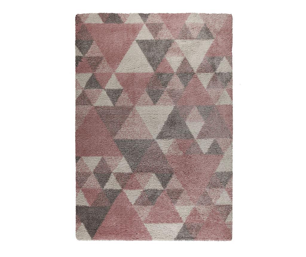 Covor Nuru Pink Cream Grey 80x150 cm - Flair Rugs, Crem,Roz