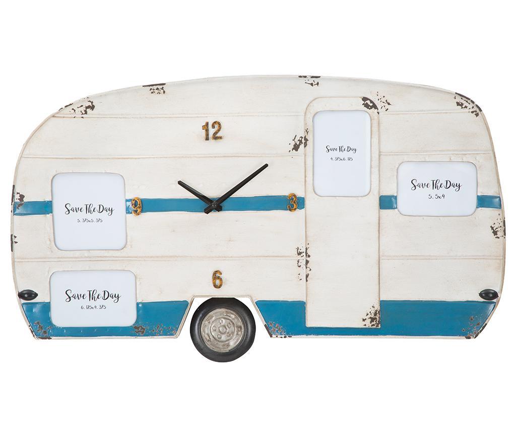 Levně Nástěnné hodiny Caravan