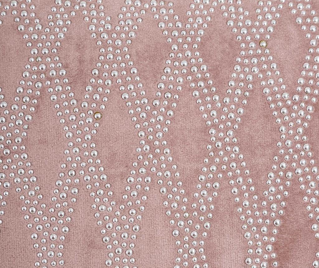 Okrasna blazina Glam Stone Pattern Pink 43x43 cm