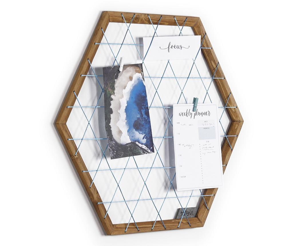 Tuva Blue Emlékeztető tábla
