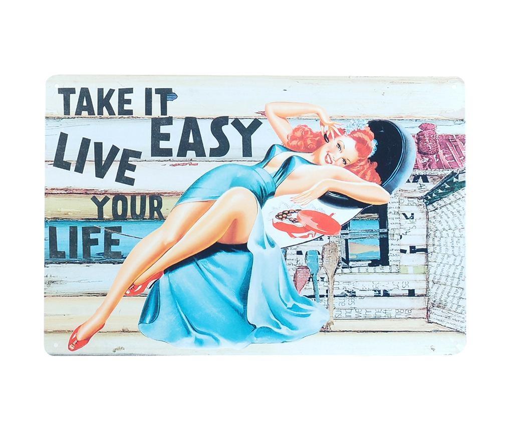 Take It Easy Fali dekoráció