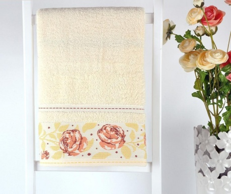 Σετ 3 πετσέτες μπάνιου Lara Roses 30x50 cm