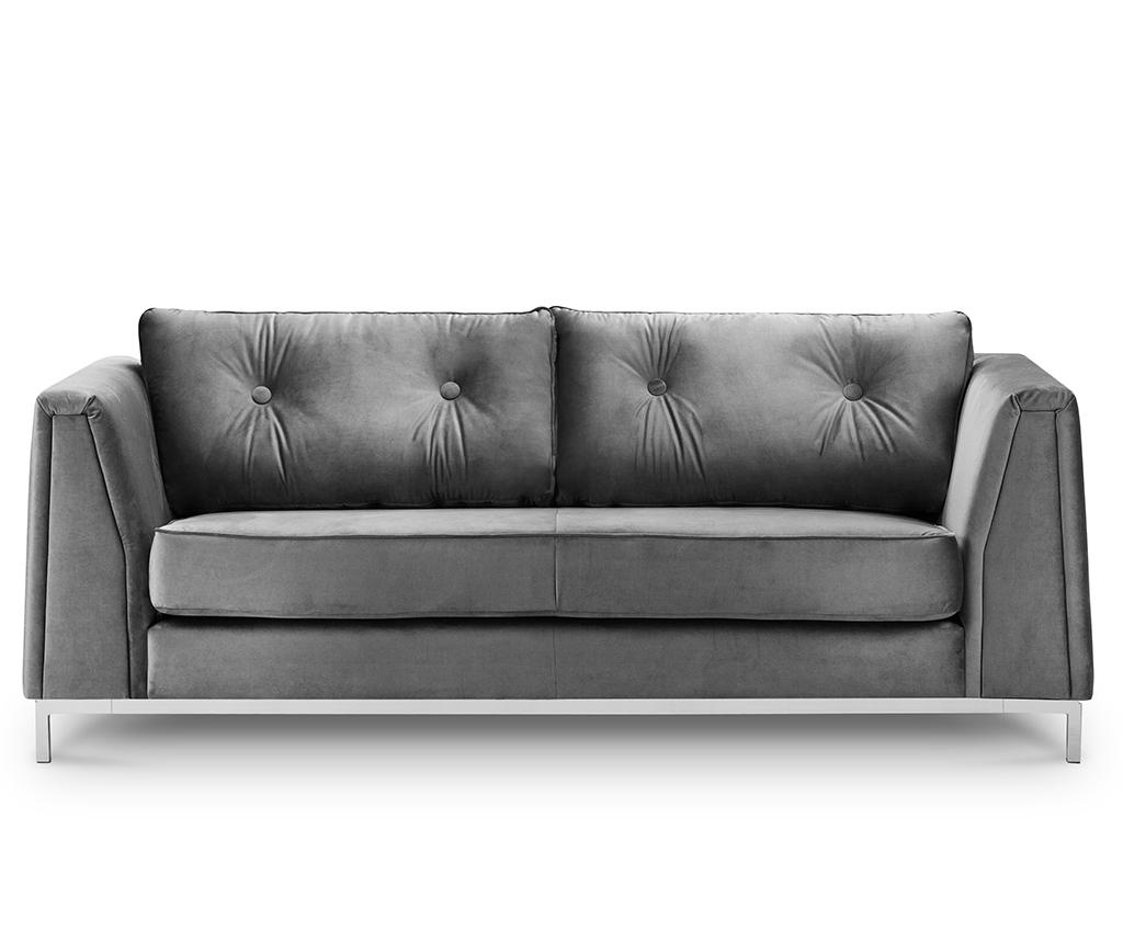 Canapea 3 locuri Amour Light Grey