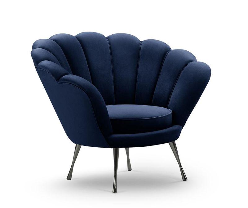 Křeslo Wagram Royal Blue