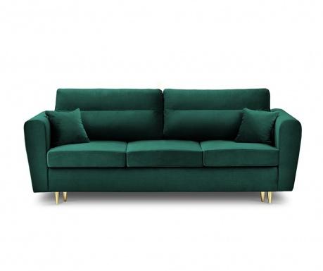 Rozkładana kanapa trzyosobowa Remy Bottle Green