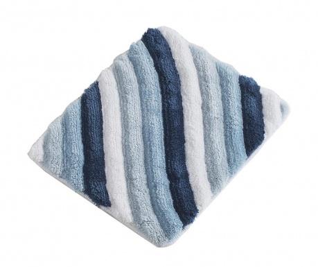 Kupaonski tepih Wavy Blue 50x60 cm