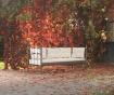 Canapea 3 locuri pentru exterior Lalas Extra Brown and Beige