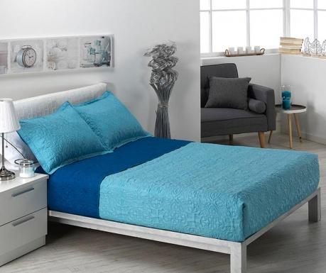 Комплект ватирана кувертюра Single Alma Pattern Blue