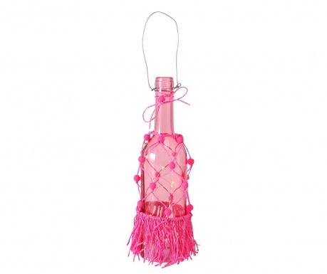 Viseča svetlobna dekoracija Hula Pink