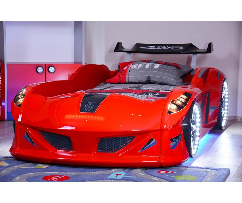 Otroški posteljni okvir Speedy Red