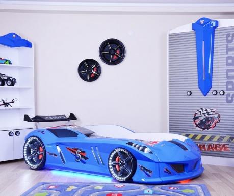 Rám postele pre deti Speedy Blue