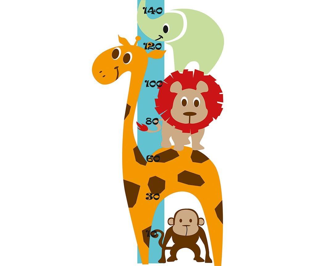 Animals Gyerek magasságmérő matrica