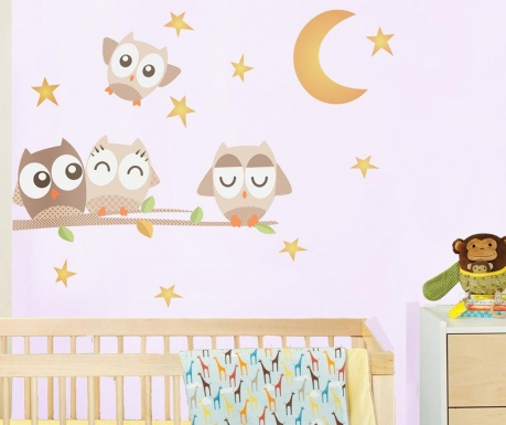Samolepka Goodnight Owl