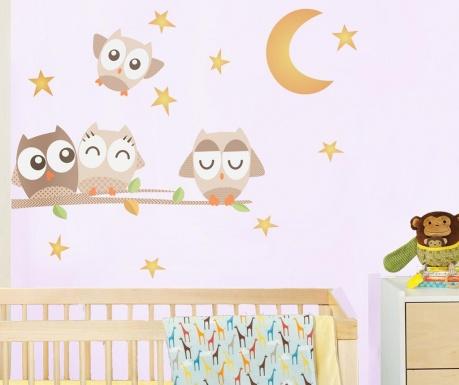 Nalepka Goodnight Owl