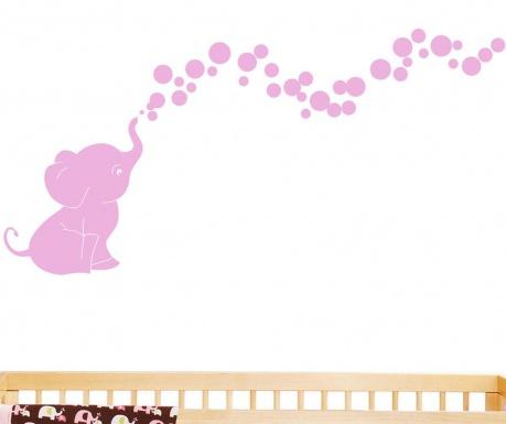 Nalepka Pink Elephant