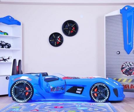 Otroški posteljni okvir Dream Blue