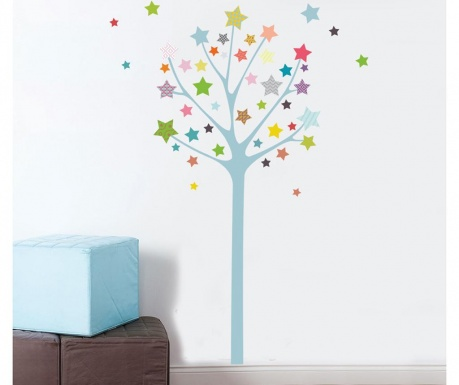 Nalepka Starry Tree