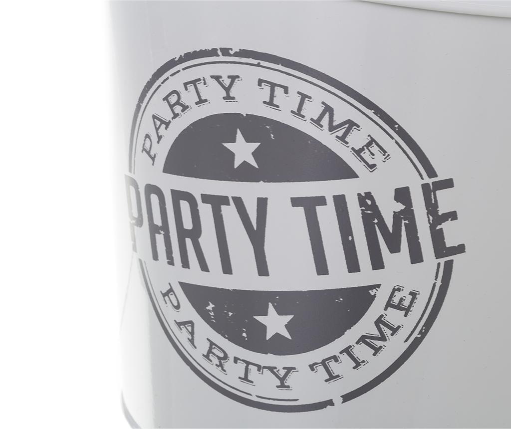 Kbelík na led Party Time White Grey 3.6 L