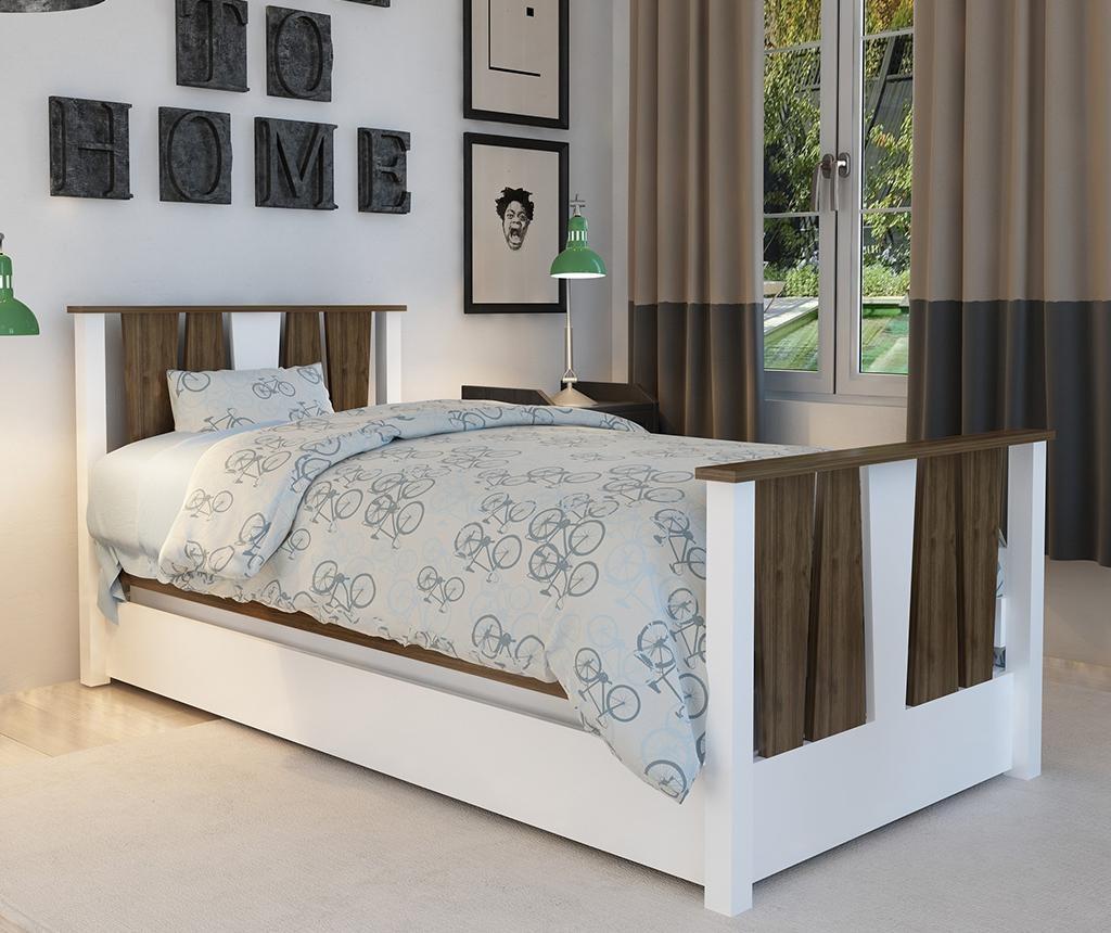Okvir za krevet sa produžetkom tipa ladice Res Walnut