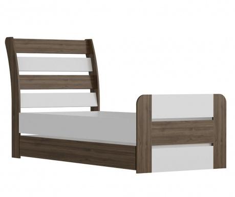 Výsuvný posteľný rám Poli White