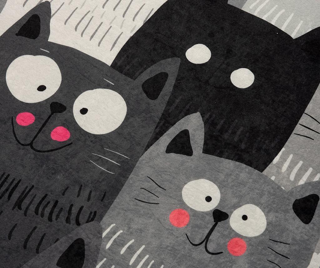 Covor Cats Grey 100x160 cm