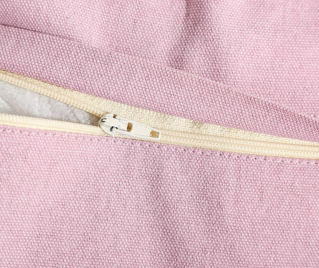 Okrasna blazina Anette Light Pink 45x45 cm